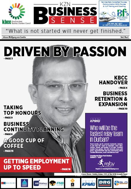 KZN Business Sense Vol.2 No.4